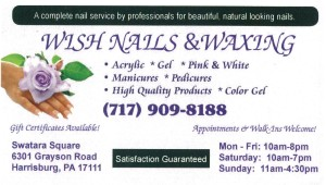Wish Nails & Waxing